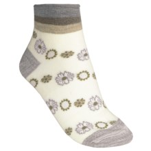 SmartWool Calico Socks - Merino Wool, Mini Crew (For Women) in Natural - 2nds