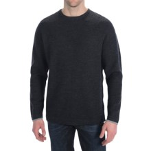 SmartWool Capitol Creek Sweater - Merino Wool, Crew Neck (For Men) in Charcoal Heather - 2nds