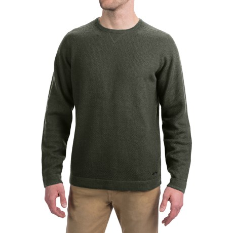 SmartWool Capitol Creek Sweater - Merino Wool, Crew Neck (For Men) in Forest