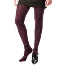 SmartWool Celestial Sky Tights - Merino Wool (For Women) in Aubergine Heather - Closeouts