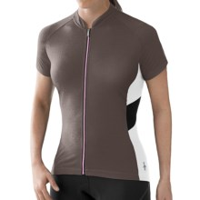 SmartWool Channing Cycling Jersey - Merino Wool, Short Sleeve (For Women) in Carbon - Closeouts
