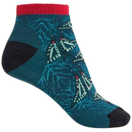 SmartWool Charley Harper Once There was a Field Socks - Merino Wool, Below the Ankle (For Women) in Black - Closeouts