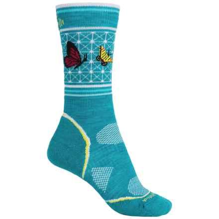 SmartWool Charley Harper PhD Outdoor Socks - Merino Wool, Crew (For Women) in Capri - Closeouts