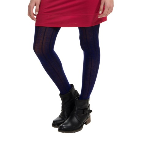 SmartWool Chevron Tights Merino Wool Blend (For Women)
