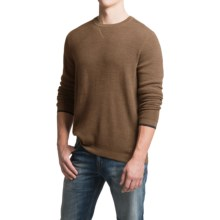 SmartWool Cheyenne Creek Sweater (For Men) in Caramel Heather - Closeouts