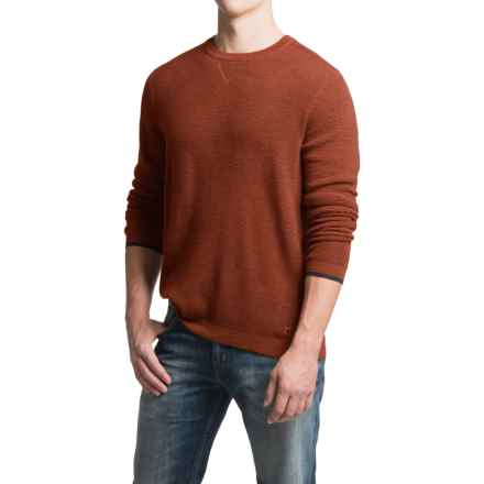 SmartWool Cheyenne Creek Sweater - Merino Wool (For Men) in Cinnamon Heather - Closeouts