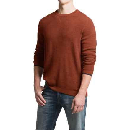 SmartWool Cheyenne Creek Sweater - Merino Wool (For Men) in Cinnamon Heather - Closeouts