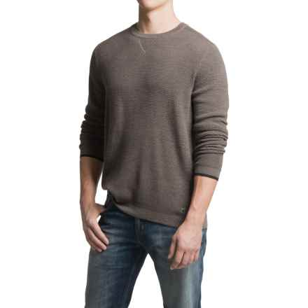 SmartWool Cheyenne Creek Sweater - Merino Wool (For Men) in Taupe Heather - Closeouts