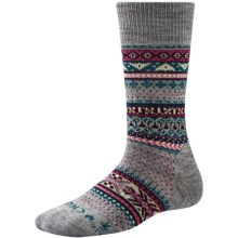 SmartWool CHUP Ceret Socks - Merino Wool, Crew (For Women) in Light Gray Heather - Closeouts