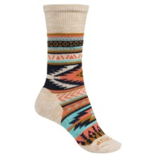 SmartWool CHUP Hopi Socks - Merino Wool, Crew (For Women) in Natural Heather - Closeouts