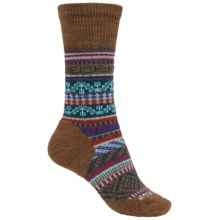 SmartWool CHUP Pasto Socks - Merino Wool, Crew (For Women) in Caramel Heather - Closeouts