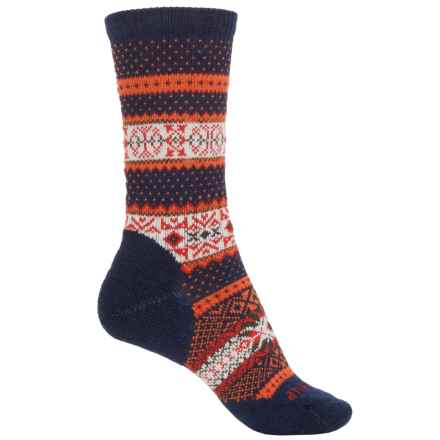 SmartWool CHUP Ruth Costa Socks - Merino Wool, Crew (For Women) in Deep Navy Heather - Closeouts