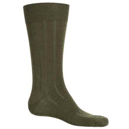 SmartWool City Slicker Socks - Merino Wool, Mid Calf (For Men) in Loden Heather - 2nds