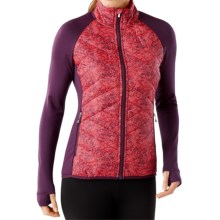 SmartWool Corbet 120 Jacket - Insulated, Merino Wool (For Women) in Aubergine - Closeouts