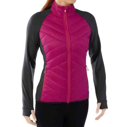 SmartWool Corbet 120 Jacket - Insulated, Merino Wool (For Women) in Berry - Closeouts
