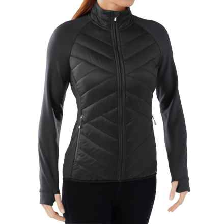 SmartWool Corbet 120 Jacket - Insulated, Merino Wool (For Women) in Black Solid - Closeouts