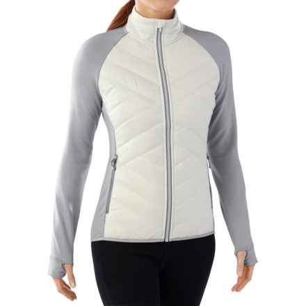 SmartWool Corbet 120 Jacket - Insulated, Merino Wool (For Women) in Dogwood White - Closeouts