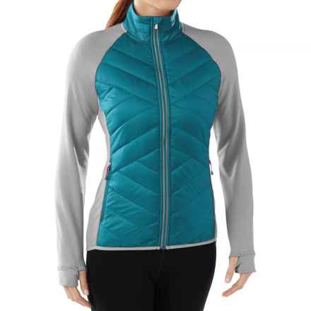 SmartWool Corbet 120 Jacket - Insulated, Merino Wool (For Women) in Glacial Blue - Closeouts