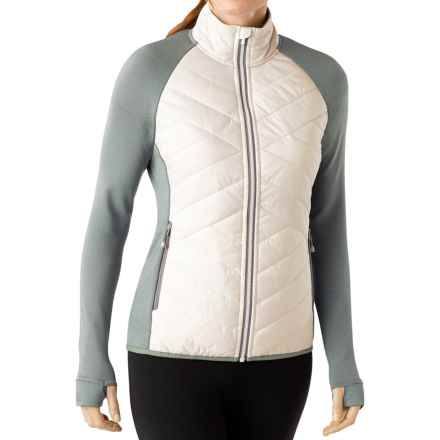 SmartWool Corbet 120 Jacket - Insulated, Merino Wool (For Women) in Natural - Closeouts