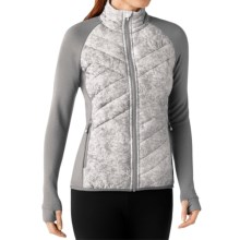 SmartWool Corbet 120 Jacket - Insulated, Merino Wool (For Women) in White - Closeouts