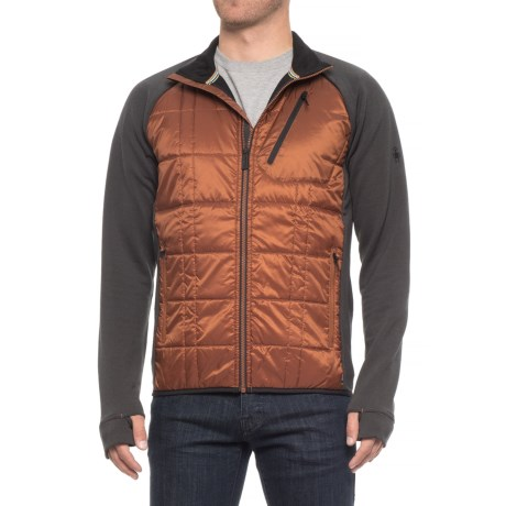 SmartWool Corbet 120 Jacket - Merino Wool, Insulated (For Men) in Cardamom