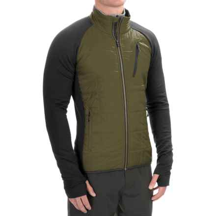 SmartWool Corbet 120 Jacket - Merino Wool, Insulated (For Men) in Loden - Closeouts