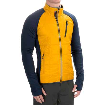 SmartWool Corbet 120 Jacket - Merino Wool, Insulated (For Men) in Sunglow - Closeouts