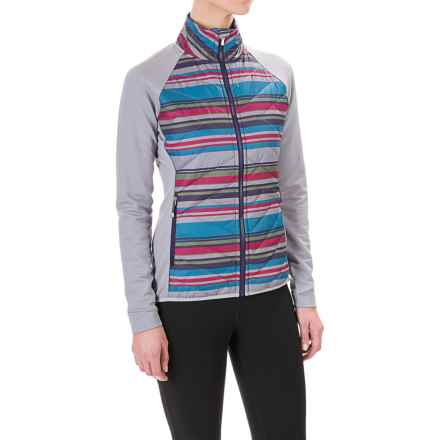 SmartWool Corbet 120 Printed Jacket - Merino Wool, Insulated (For Women) in Multi Color - Closeouts