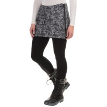 SmartWool Corbet 120 Printed Skirt - Insulated, Merino Wool Lining (For Women) in Black - Closeouts