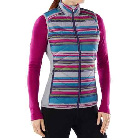 SmartWool Corbet 120 Printed Vest - Merino Wool, Insulated (For Women) in Multi Color - Closeouts