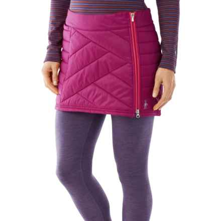 SmartWool Corbet 120 Skirt - Insulated, Merino Wool (For Women) in Berry - Closeouts