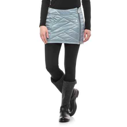 SmartWool Corbet 120 Skirt - Insulated, Merino Wool (For Women) in Blue Ice - Closeouts