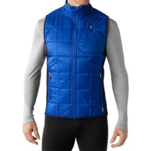 SmartWool Corbet 120 Vest - Merino Wool, Insulated (For Men) in Bright Blue - Closeouts