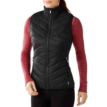 SmartWool Corbet 120 Vest - Merino Wool, Insulated (For Women) in Black - Closeouts