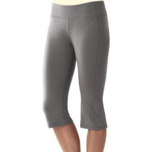 SmartWool Cortina Capris - Merino Wool (For Women) in Alloy - Closeouts