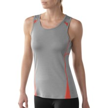 SmartWool Cortina Tech Tank Top - Merino Wool (For Women) in Alloy - Closeouts