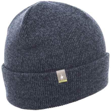 SmartWool Cozy Cabin Hat - Merino Wool (For Men) in Dark Blue Steel - Closeouts