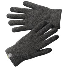 SmartWool Cozy Gloves - Merino Wool (For Men and Women) in Black - 2nds