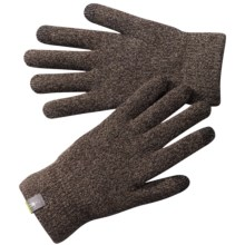 SmartWool Cozy Gloves - Merino Wool (For Men and Women) in Taupe - 2nds