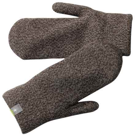 SmartWool Cozy Mittens - Merino Wool (For Men and Women) in Taupe - Closeouts