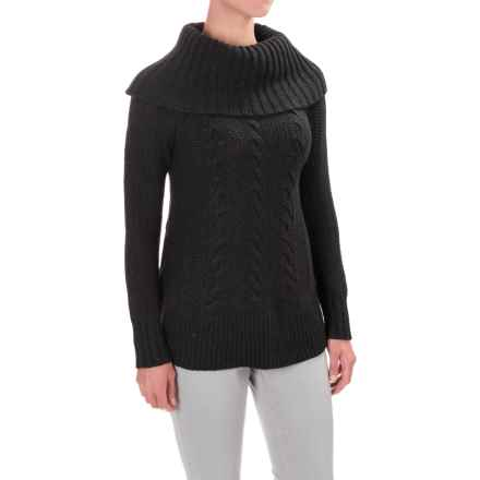 SmartWool Crestone Tunic Sweater - Merino Wool (For Women) in Charcoal Heather - Closeouts