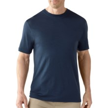 SmartWool Crew T-Shirt - UPF 20, Merino Wool, Short Sleeve (For Men) in Navy - Closeouts