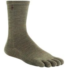 SmartWool Crew Toe Socks - Merino Wool, Lightweight (For Men and Women) in Chino - Closeouts