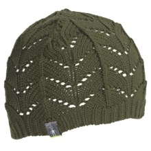 SmartWool Crochet Beanie Hat (For Women) in Forest - Closeouts