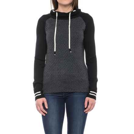 SmartWool Dacono Hoodie - Merino Wool (For Women) in Black - Closeouts