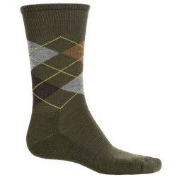 SmartWool Diamond Jim Socks - Merino Wool (For Men) in Loden Heather