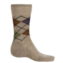 SmartWool Diamond Jim Socks - Merino Wool (For Men) in Oatmeal Heather - 2nds