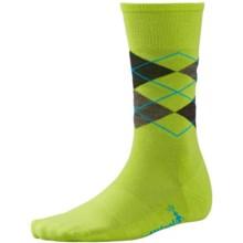 SmartWool Diamond Jim Socks - Merino Wool (For Men) in Smartwool Green - 2nds
