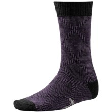 SmartWool Diamond Mirage Socks - Merino Wool, Crew (For Men) in Desert Purple Heather - Closeouts