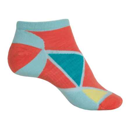 SmartWool Diamond Point Micro Socks - Merino Wool, Below the Ankle (For Women) in Clearwater - 2nds